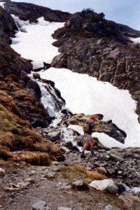 Muott'Ota, Silvaplana, Zwitserland, Juni 1994