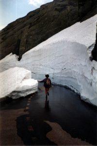 Rhonegletsjer, Furkapass, Zwitserland,Juni 1994
