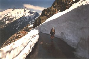 Rhonegletsjer, Furkapass, Zwitserland, Juni 1994