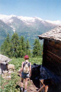 Ulrichen, Rhonedal, Zwitserland, Juni 1994