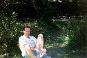 Camping, Ulrichen, Zwitserland, Juni 1994