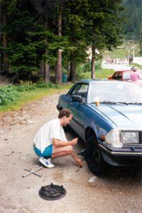 Rempech, Furkapass, Zwitserland, Juni 1994