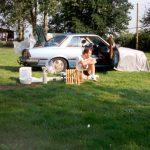 Camping heenreis,Willstätt,Duitsland, Juni 1994