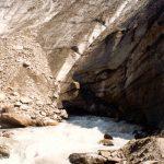 Gletsjer LötschenluckeLötschentall ZwitserlandAugustus 1993