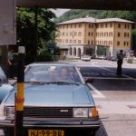 Aangehouden bij de Italiaanse grens,Berninapas,Zwitserland, Juni 1994