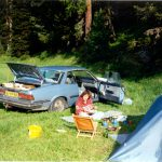 Camping,St. Moritz,Zwitserland, Juni 1994