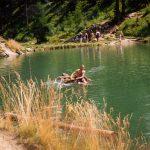 Vlot op SwartzseeLötschentall  ZwitserlandAugustus 1993