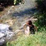 Voeten koelen,UlrichenZwitserland, Juni 1994