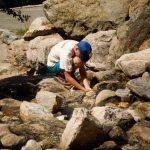 Mineralen zoekenBinntall  ZwitserlandAugustus 1993