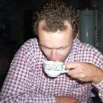 Koffiepauze,Abulapass,Zwitserland, Juni 1994